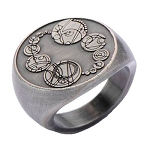 Doctor Who Ring: The Master's Saxon Signet Ring (Size 6)