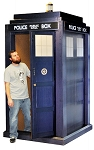 Lifesize 3D TARDIS (Shipping Included in Price) - CONTINENTAL USA ONLY