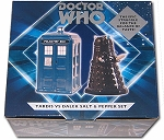 TARDIS vs Dalek Salt and Pepper Set
