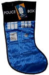 Doctor Who TARDIS Police Box Christmas Stocking