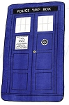 Doctor Who Police Box Micro Raschel Throw