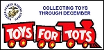 Toys for Tots Action Toy and Action Figure Donation