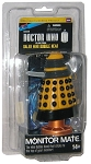 Yellow Dalek Monitor Mate Mini Bobble Head