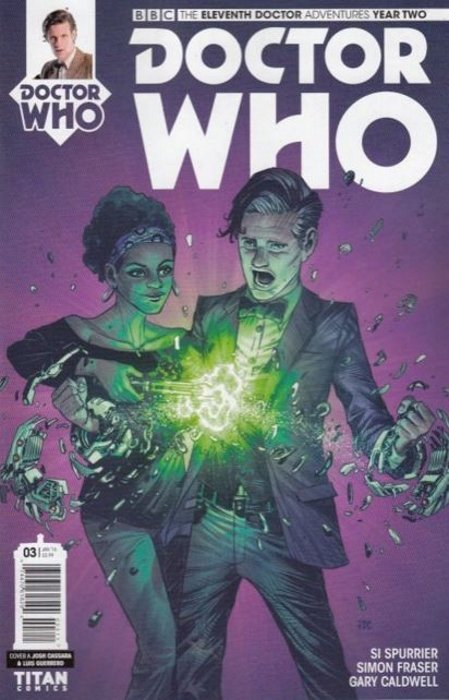 Doctor Who Comic: Eleventh Doctor, Year 2, Issue 03