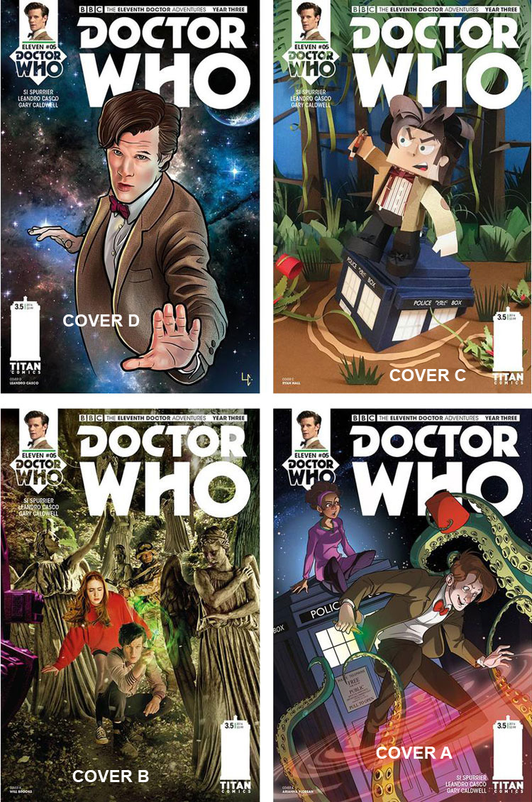 Doctor Who Comic: Eleventh Doctor, Year 3, Issue 05