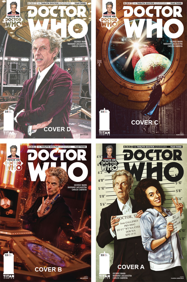 Doctor Who Comic: Twelfth Doctor, Year 3, Issue 5