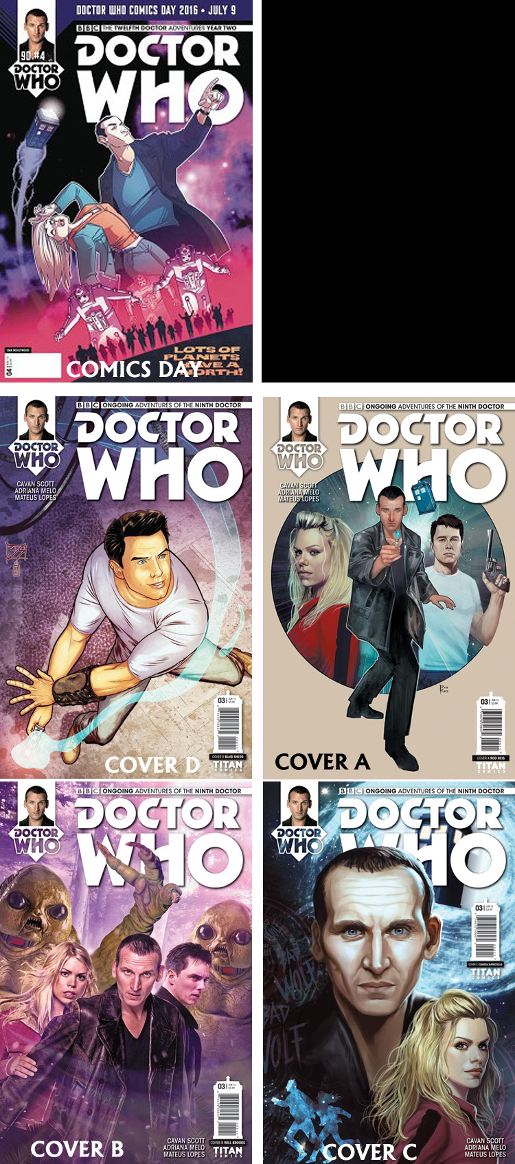 Doctor Who Comic: Ninth Doctor, Issue 3