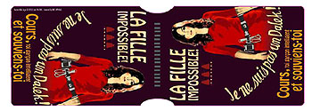 Travel Pass Holder: La Fille Impossible!
