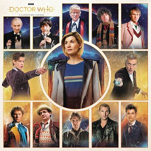 Doctor Who 2021 Sixteen-Month Calendar