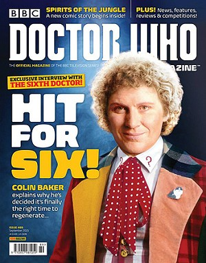 Doctor Who Magazine, Issue 489