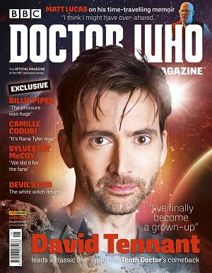 Doctor Who Magazine, Issue 518