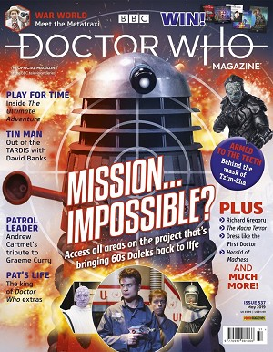 Doctor Who Magazine, Issue 537