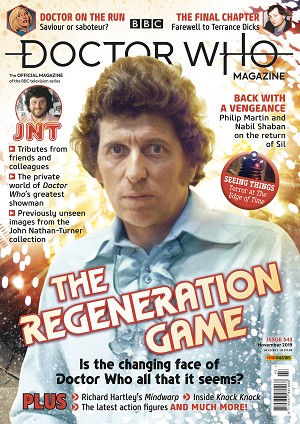 Doctor Who Magazine, Issue 543