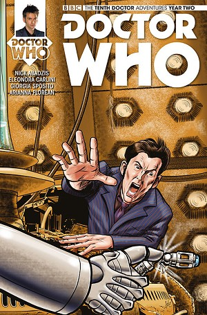 Doctor Who Comic: Tenth Doctor, Year 2, Issue 13 (Paul McCall GenCon Exclusive Cover)