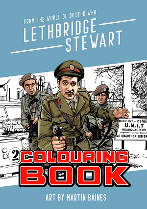 The Lethbridge-Stewart Coloring Book