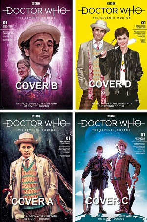 Doctor Who Comic: Seventh Doctor, Issue 01