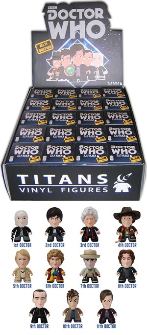 Titans Doctor Who Vinyl Figure, All Doctor Wave