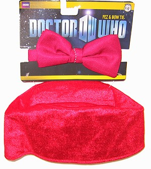 Doctor Who Fez and Bow Tie