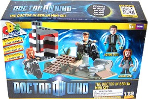Doctor Who Doctor in Berlin Mini Set Micro Figures