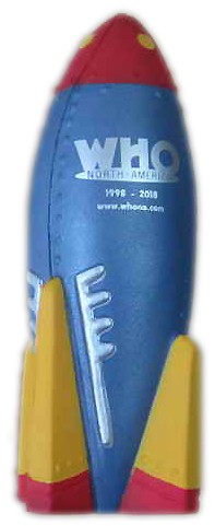Who North America 20th Anniversary Stress Toy Rocket