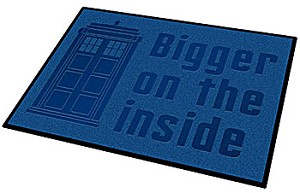 Doctor Who TARDIS Welcome Mat