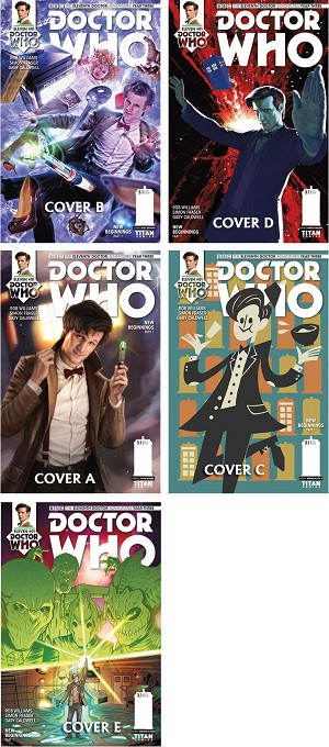 Doctor Who Comic: Eleventh Doctor, Year 3, Issue 01