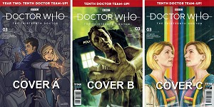 Titan Thirteenth Doctor, Year 2, Issue 3